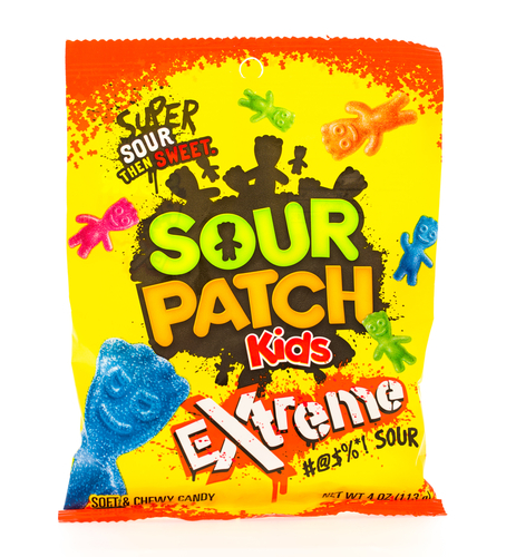 Big are sour patch kids bad for you
