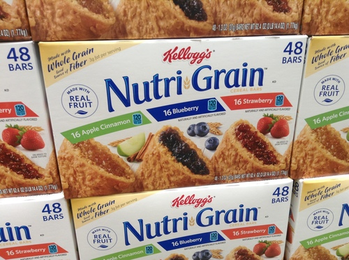 Big are nutrigrain bars bad for you