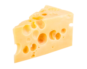 Thumb is swiss cheese bad for you.
