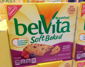 Thumb is belvita bad for you