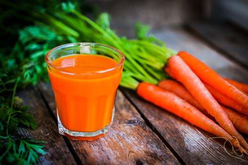 Big is carrot juice bad for you