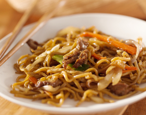 Thumb is lo mein bad for you