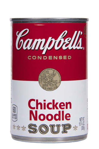 Big is campbell s chicken noodle soup bad for you.