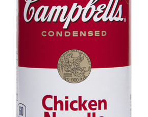 Thumb is campbell s chicken noodle soup bad for you.
