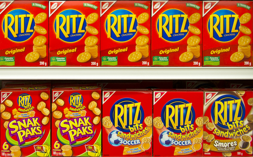 Big are ritz crackers bad for you