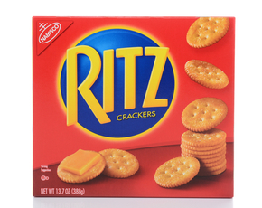 Thumb are ritz crackers bad for you.