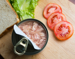 Thumb is canned tuna bad for you