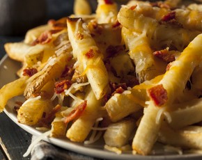Thumb are cheese fries bad for you