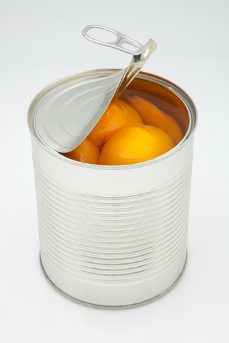Big are canned peaches bad for you