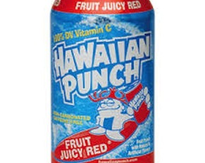 Thumb is hawaiian punch bad for you