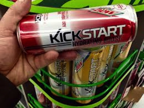 Big is mountain dew kickstart bad for you