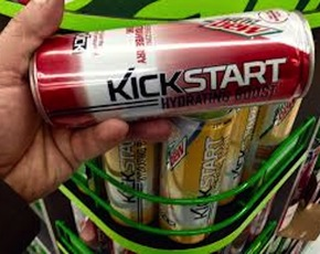 Thumb is mountain dew kickstart bad for you