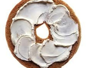 Thumb are bagles with cream cheese bad for you