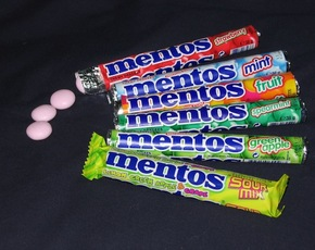 Thumb are mentos bad for you