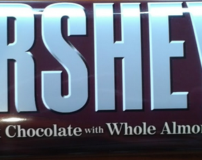 Thumb are hershey s with almonds bad for you