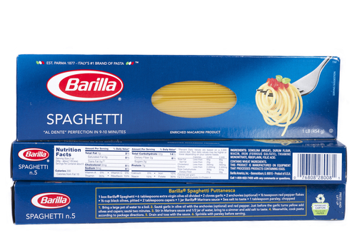 Big is barilla spaghetti bad for you