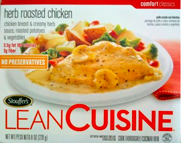 Is lean cuisine herb roasted chicken bad for you here for Are lean cuisine good for you