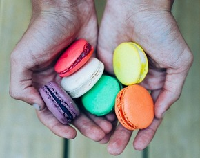 Thumb are macarons bad for you.