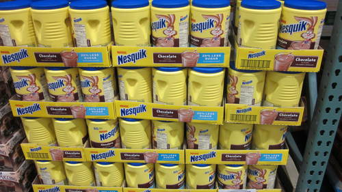 Big is nesquik chocolate powder bad for you