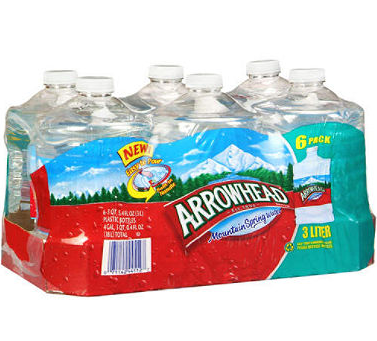 Big is arrowhead water bad for you