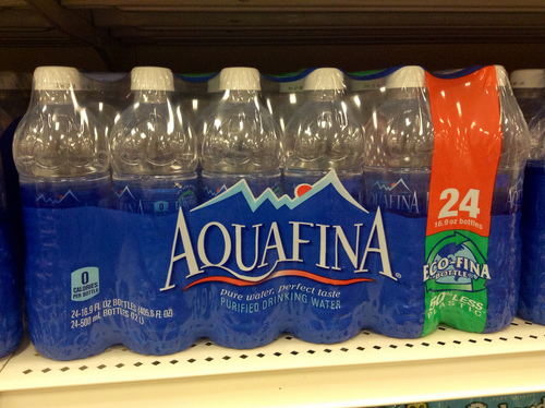 Big is aquafina water bad for you
