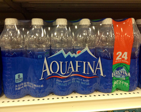 Thumb is aquafina water bad for you