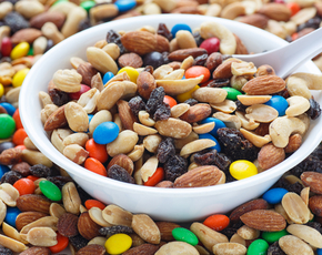 Thumb is trail mix bad for you