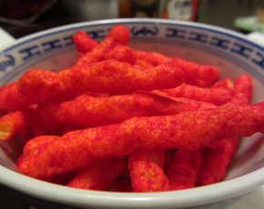 Thumb are hot cheetos bad for you
